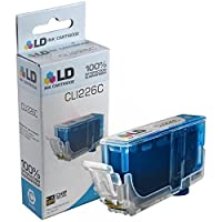 LD テつゥ Compatible Replacement for Canon CLI-226C Cyan Ink Cartridge for Canon PIXMA iP4820 ,iP4920, iX6520, MG5120, MG5220, MG5320, MG6120, MG6220, MG8120, MG8120B, MG8220, MX712, MX882, & MX893 by LD Products