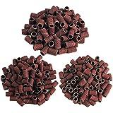 Coscelia 300pcs Nail Sanding Bands 80 120 180 Nail polishing Tool Nail Drill File Machine Art Manicure Tool