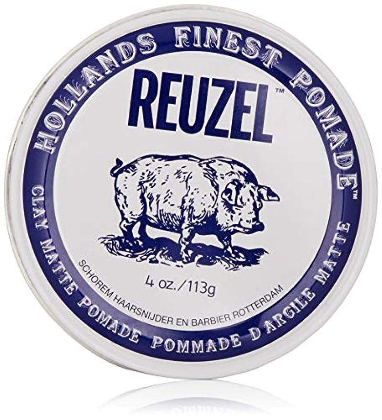 プログラム慣らす良性Reuzel Clay Matte Pomade 113g/4oz並行輸入品