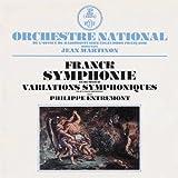 フランク: 交響曲ニ短調、交響的変奏曲