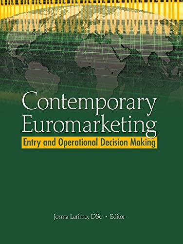 Contemporary Euromarketing: Entry and Operational Decision Making (English Edition)