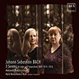 Bach: 3 Sonatas for Violin & Harpsichord