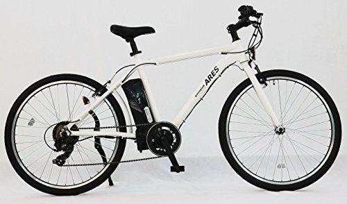 AIJYU CYCLE 電動クロスバイク 軽量アルミフレーム...