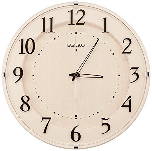 SEIKO CLOCK (セイコークロック) 掛け時計 スタンダード ナチュラルスタイル(アイボリー塗装) KX397A KX397A