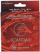 Vital Audio SCANDALシグネチャーギターケーブル VA-Patch-F/SD 0.3m S/L