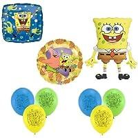 loonballoon Spongebob Squarepantsスポンジボブ&パトリック?( 9 ) Party Mylar &ラテックスバルーンセット