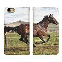 Carine DIGNO A KYV44 手帳型 スマホケース スマホカバー bn435(F) ウマ Horse フォト ディグノ スマートフォン スマートホン 携帯 ケース ディグノA 手帳 ダイアリー スマフォ カバー