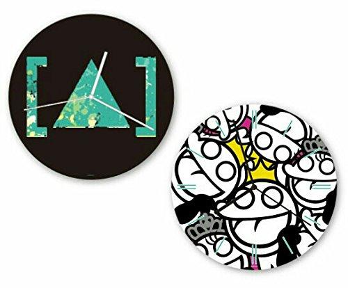 [Alexandros] ウォールクロック 全2種 ロゴ ア...