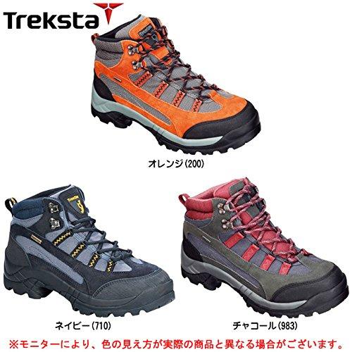 トレクスタ エボリューション EBK014 トレッキングシューズ 登山靴 メンズ ネイビー 25.5cm