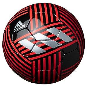 adidas(アディダス) サッカーボール ネメシス グライダー AF4639R ブラック×レッド