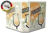 バインダー 2 Ring Binder Lever Arch Folder A4 printed Welcome Paradise