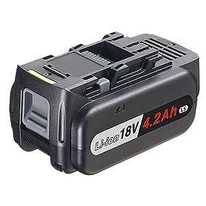 パナソニック(Panasonic) 18Vリチウムイオン電池パック4.2Ah LSタイプ EZ9L51 【純正品※段ボール箱付】