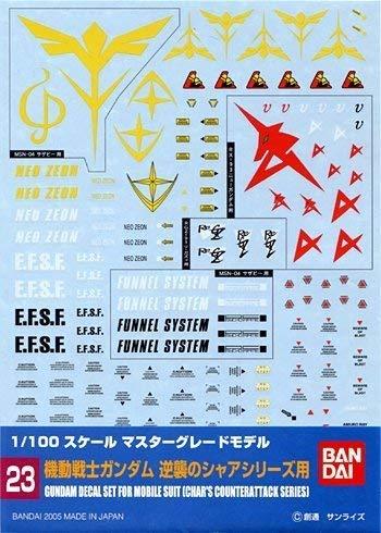 1/100 ガンダムデカール MG 汎用-逆襲のシャア用 (23)