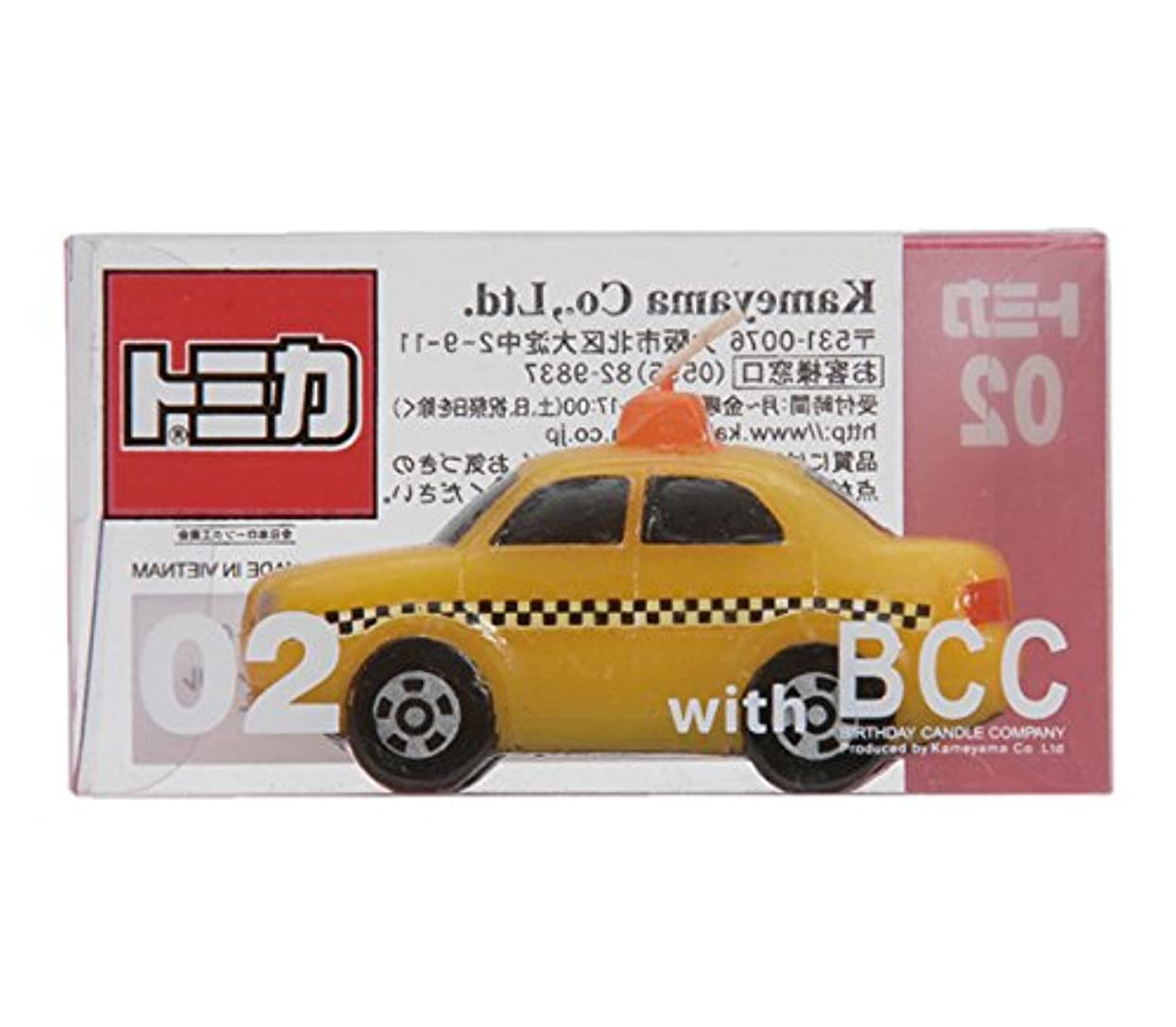 自治的加速するバットトミカキャンドルタクシー 10個入り 56060002