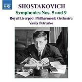 ショスタコーヴィチ:交響曲 第5番&第9番