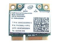 Intel 22002200bn _ HMWハーフミニPCI - EワイヤレスWLANカード60y3295for IBM Lenovo