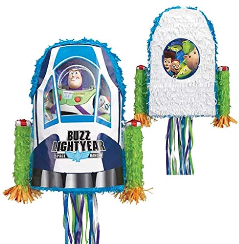 ピニャータ バズライトイヤー トイストーリー Ya Otta Pinata ハロウィン クリスマス バースデー パーティー並行輸入品 引っ張りヒモ付き Toy Story Buzz Lightyear