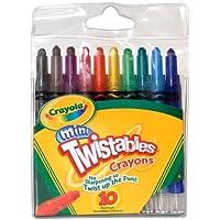 Crayola ChildrensクレヨンMini Twistables no必要なシャープ10 ct