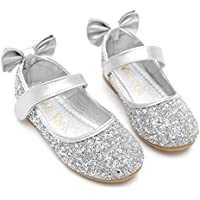 Bumud Girls' Mary Jane Ballerina Flat Shoes