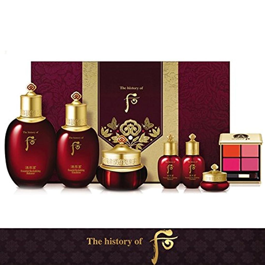 心のこもった永遠のワイヤー【フー/The history of whoo] Whoo后(フー) 津率享(ジンユルヒャン) 3種セット/JINYUL SET+[Sample Gift](海外直送品)