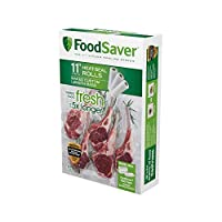 "FoodSaver 11"" Roll with Uniqueマルチレイヤ構造、BPAフリー、3Rolls 1パック"