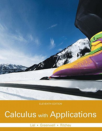 Download Calculus with Applications Plus MyLab Math with Pearson eText -- Access Card Package (11th Edition) (Lial, Greenwell & Ritchey, The Applied Calculus & Finite Math Series) 0133886832