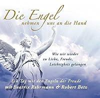 Die Engel nehmen uns an die Hand. Audio-CD: Wie wir wieder zu Liebe, Freude, Leichtigkeit gelangen - Ein Tag mit den Engeln der Freude