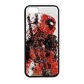 デッドプール アイフォン iPhone5/5S 専用 ケース Deadpool アメリカ映画 携帯ケース 携帯カバー スマホケース(レーザー技術)