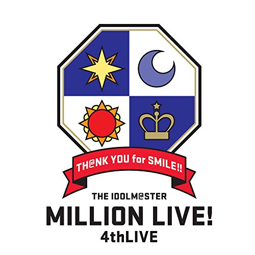 THE IDOLM@STER MILLION LIVE! 4thLIVE TH@NK YOU for SMILE! LIVE Blu-ray COMPLETE THE@TER
