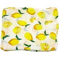 Cheeru 綿の看護用ぬいぐるみ毛布子供たちのスワドル レモン色