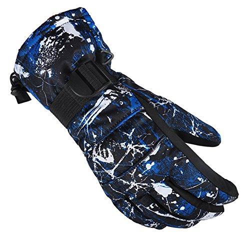 [X.A] スキー グローブ スノボ グローブ スキー 手袋 登山 手袋 防寒グローブ 防水 防寒 保温 通気性 サイ...