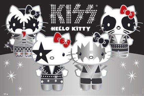 ハローキティ(KISS GROUP)《GBA041》ポスターサンリオキャラクターグッズ通販
