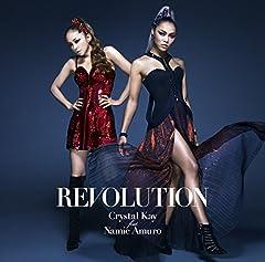 Crystal Kay feat. 安室奈美恵「REVOLUTION」のジャケット画像