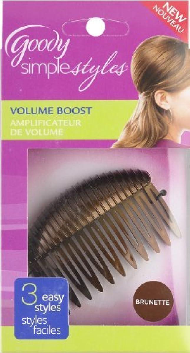 苦行メッシュもう一度Goody Simple Styles Volume Boost Comb, Assorted colors [並行輸入品]