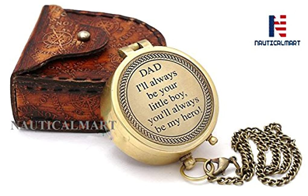 目を覚ます望む騒ぎNAUTICALMART Best Dad/父の美しいQuote / Gift For Father/父の誕生日ギフト