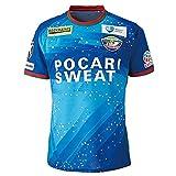 J1 ユニフォーム 半袖 徳島ヴォルティス ブルー メンズ tシャツ サッカー レプリカ ファン制服 印刷可能 XL