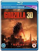 Godzilla (2014) Blu-ray 3D