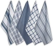"""DII Cotton Luxury Assorted Kitchen Dish Towels, 18 x 28"""" Set of 5, Ultra Absorbent Fast Dry, Professional"""