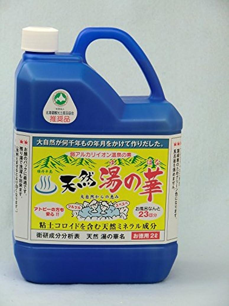 液化する引き付ける発音する天然湯の華2L
