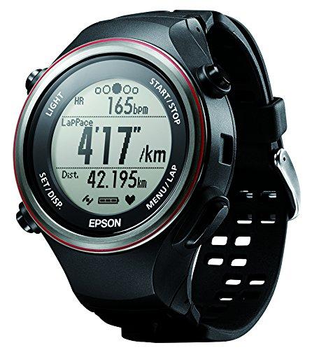 [エプソン リスタブルジーピーエス]EPSON Wristable GPS 腕時計 ランニングウォッチ GPS機能 脈拍計測 SF-850PB