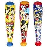 【ビニール玩具】 ミッキー&フレンズ バット・L (6入)  / お楽しみグッズ(紙風船)付きセット [おもちゃ&ホビー]