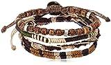 Wakami ワカミ ブレスレット Earth Bracelet 4 アンクレット メンズ レディース ペア ビーズ パーツ アクセサリー ロンハーマン Ron Herman 取扱ブランド