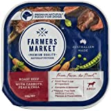 Farmers Market Beef Carr Pea 100g Wet Dog Food, 12 Case
