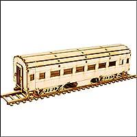 Young Modeler Junior Serises, 木製モデルキット_旅客列車YM768) [並行輸入品]