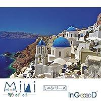 InGooooD -ミニシリーズ-世界ミニのジグソーパズル 1000 絵画 エーゲ海スタイル-パズル 大人 向け