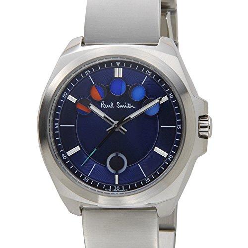 ポールスミス Paul Smith 腕時計 メンズ BM5-313-70 ネイビー×シルバー FIVE EYES [並行輸入品]