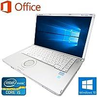 【Microsoft Office 2016搭載】【Win 10搭載】Panasonic CF-B11/第三世代Core i5 2.5GHz/メモリー8GB/新品SSD:480GB/DVDスーパーマルチ/15インチワイド液晶/無線搭載/HDMI/USB3.0/中古ノートパソコン (新品SSD:480GB)