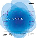 D'Addario ダダリオ ウッドベース(コントラバス)弦 HP610 3/4M Helicore Pizzicato Bass Strings / SET 【国内正規品】