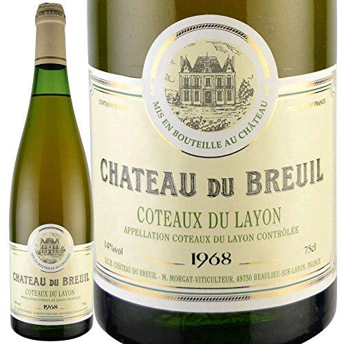 誕生日 母の日 プレゼント 1968年 ワイン シャトー・デュ・ブルイユ/コトー・デュ・レイヨン 750ml [正規輸入品]