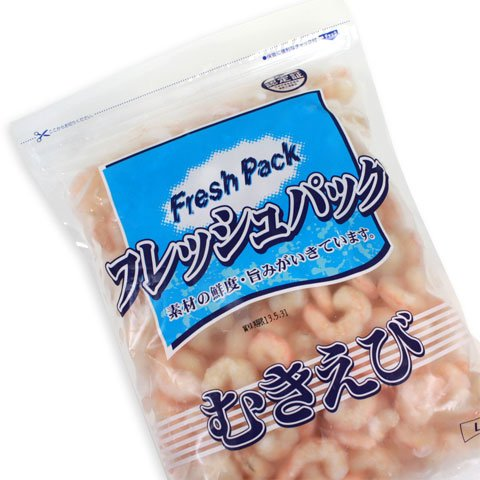 冷凍食品 むきえびIGF L 600g